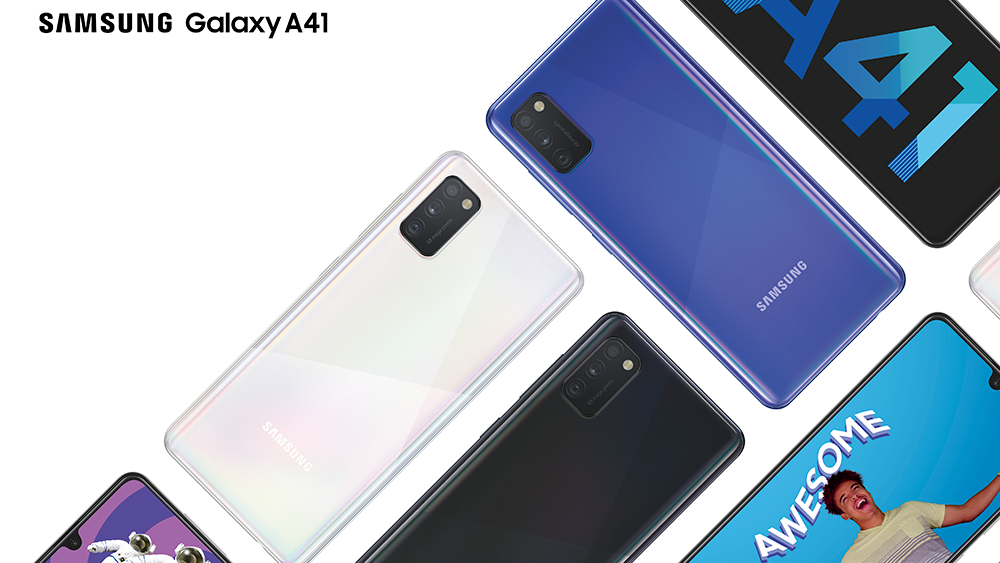 Galaxy A41 KV