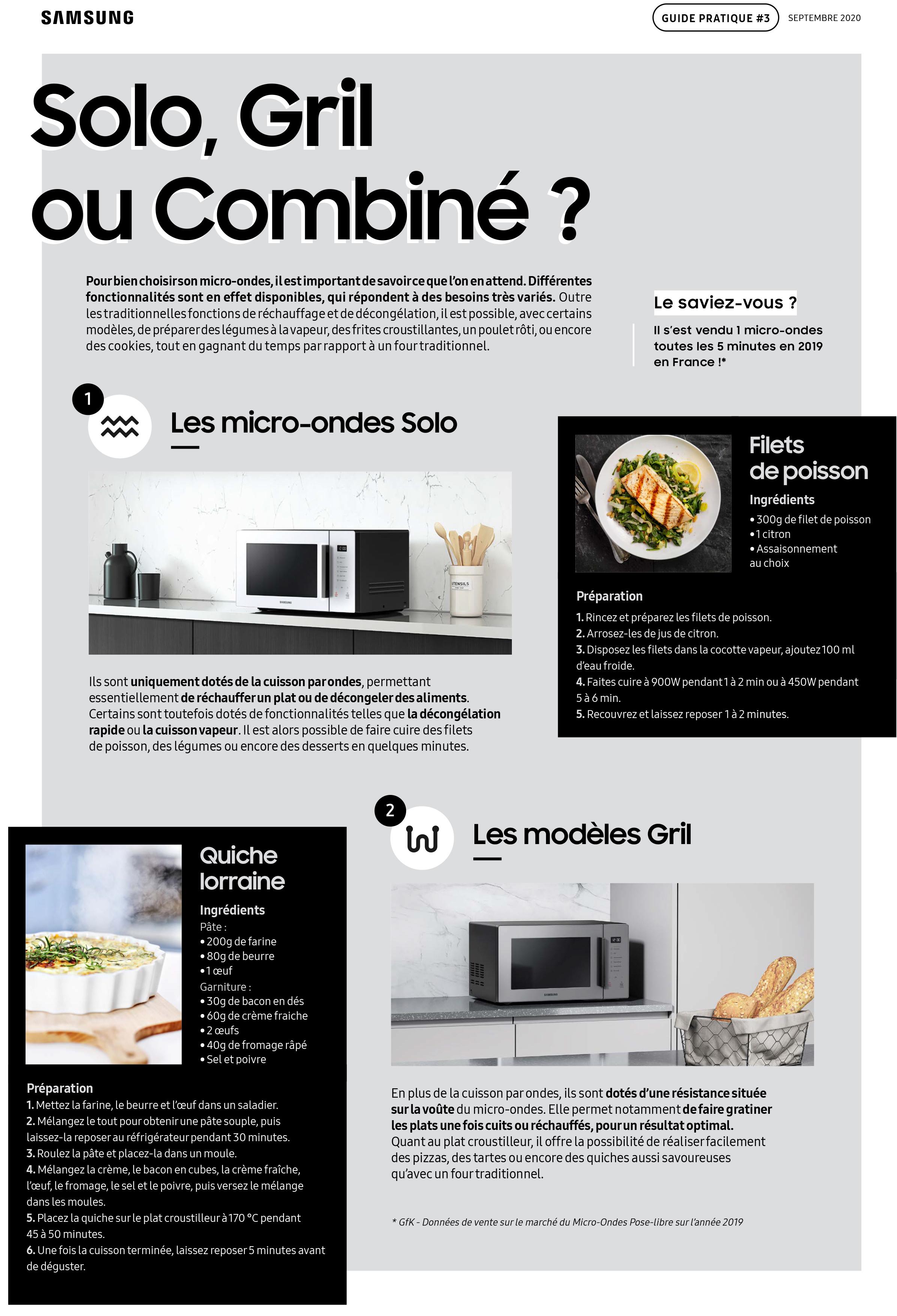 Guide pratique Samsung micro-ondes-2
