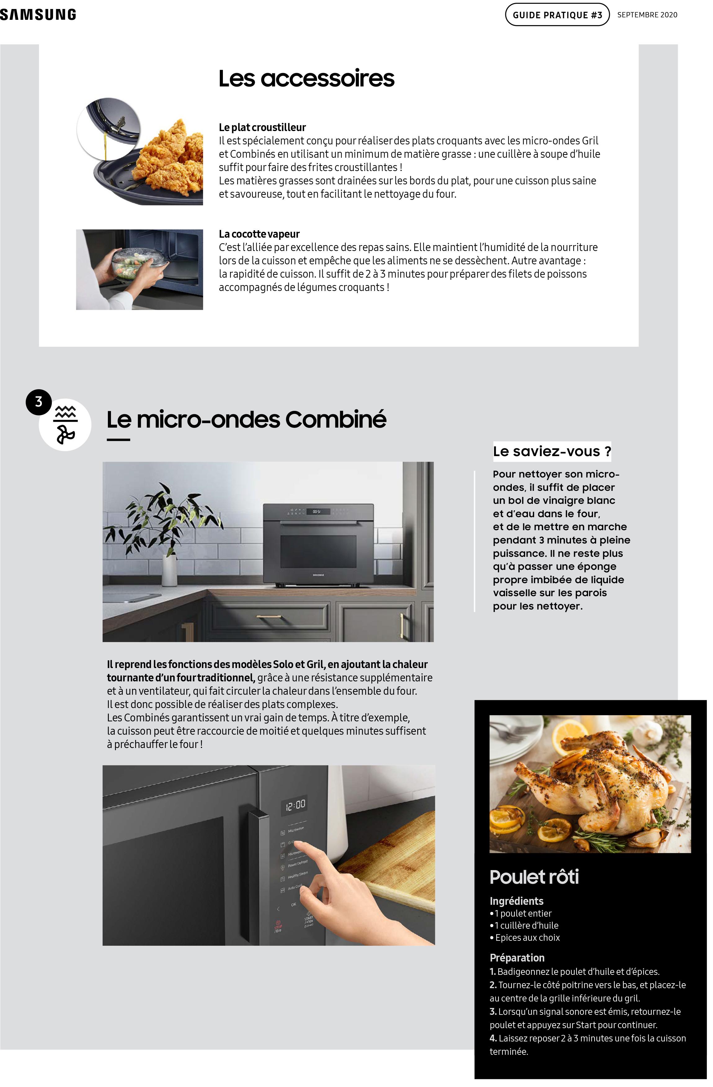 Guide pratique Samsung micro-ondes-3