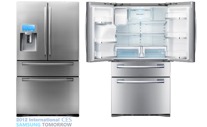 ces 2012] samsung showcases its kitchen smarts and innovations at