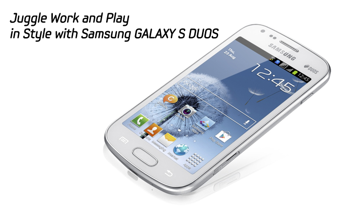play in style with samsung galaxy s duos samsung global newsroom