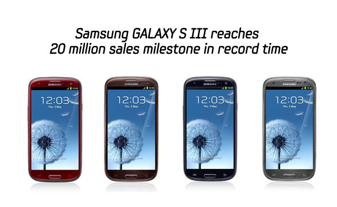 Samsung Galaxy 3 Sets Sales Record