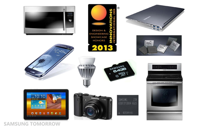 Samsung Electronics Honored With 27 CES 2013 Innovations ...