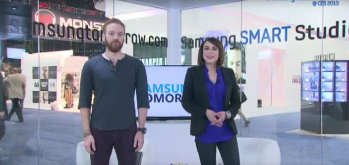 """Which way is Starboard?"" Shira and Ethan Open [Day 4] Samsung Tomorrow TV @ CES 2013"