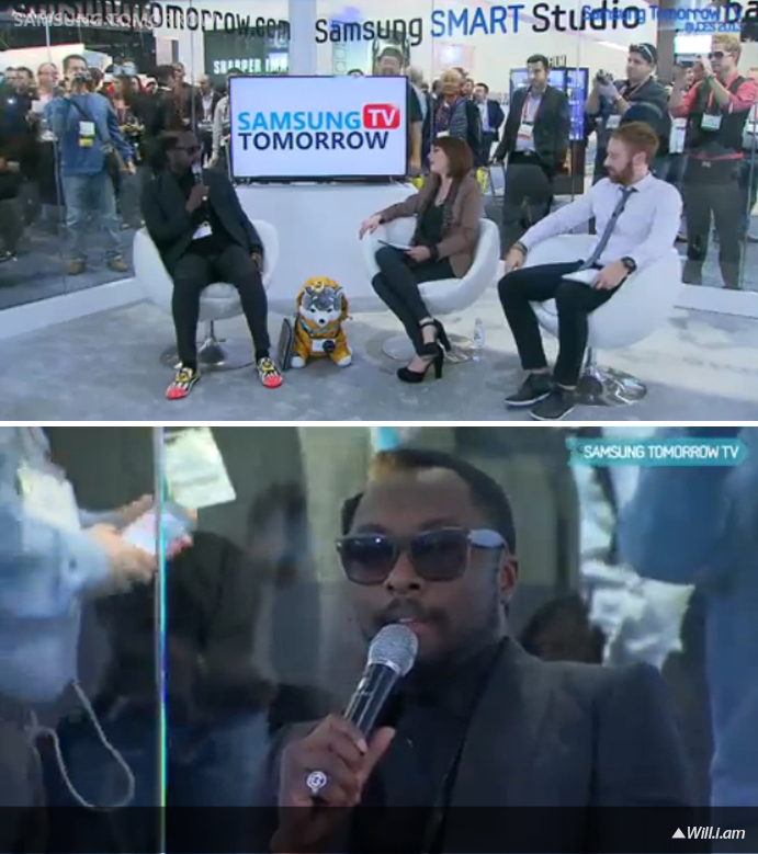 Samsung Tomorrow TV-Will.i.am
