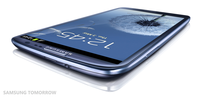 GALAXY S III Pebble Blue