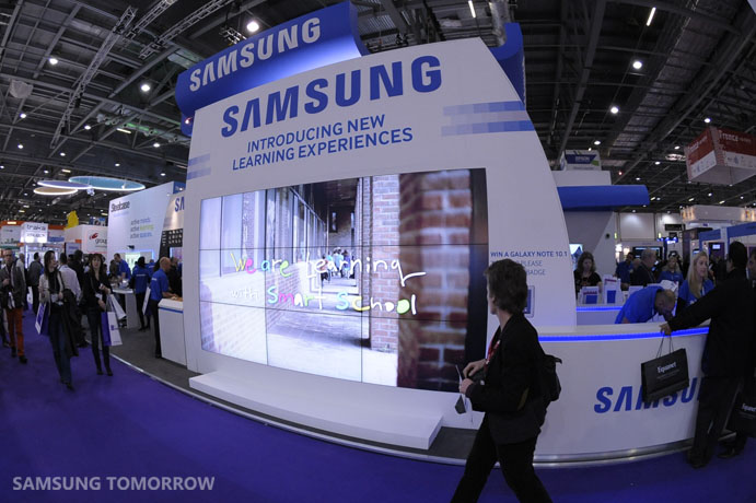 Samsung's Vision of Smart School Showcased at BETT 2013