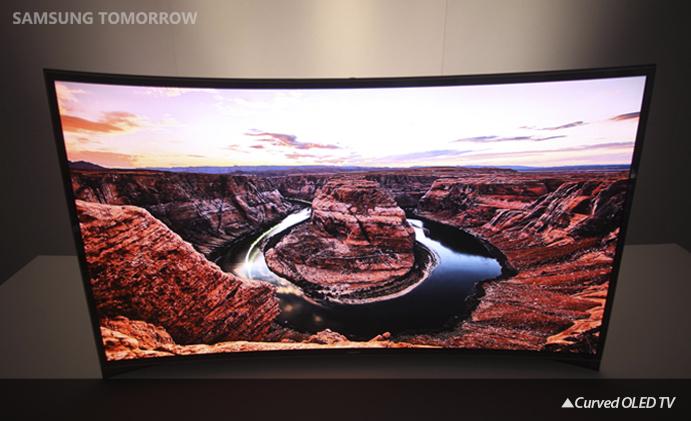 Samsung TV, Curved OLED TV