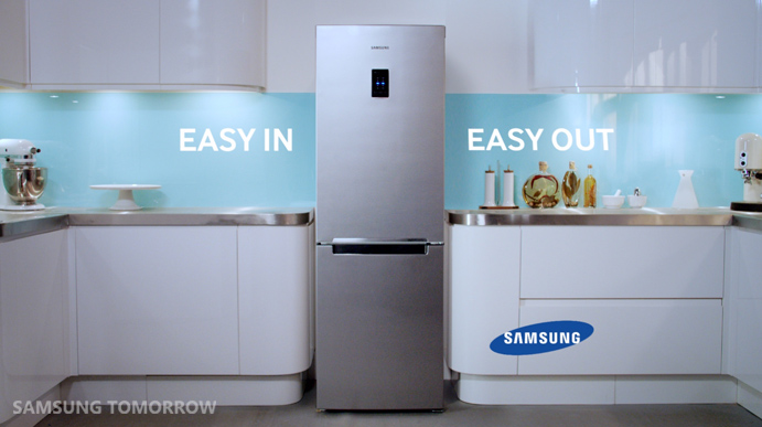 Monkeys Attack a Samsung's New Bottom Mounted Freezer
