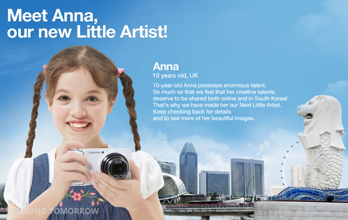 anna-new little artist