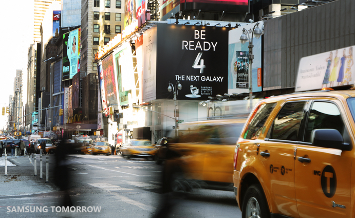 Meet The Next GALAXY at Times Square, NY