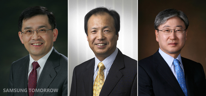 new samsung co-ceos