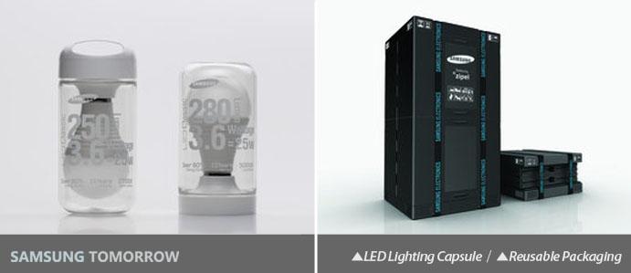 LED Lighting Capsule, SBS refrigerator packaging