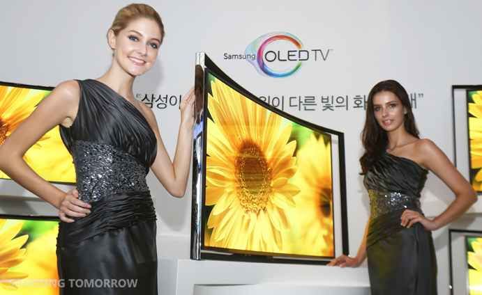 Curved OLED to deliver flawless picture quality