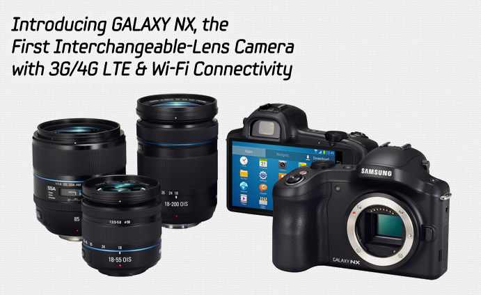 Introducing GALAXY NX, the First Interchangeable-Lens ...