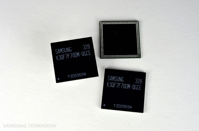 Samsung 3GB LPDDR3 mobile DRAM