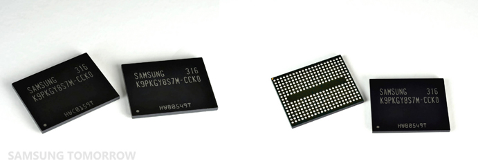 Samsung's 3D V-NAND is able to provide over twice the scaling of 20nm-class* planar NAND flash