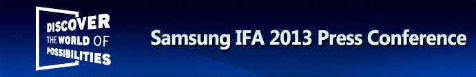 IFA 2013 Press Conference
