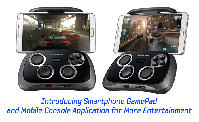 introducing smartphone gamepad and mobile console