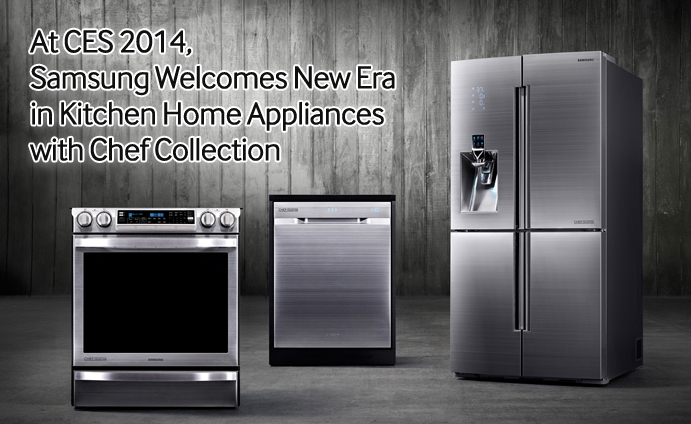 White Kitchen Appliances 2014 at ces 2014, samsung welcomes new era in kitchen home appliances