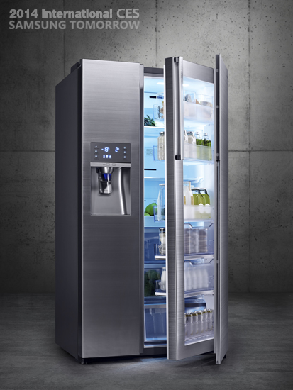 Samsung Food Showcase Refrigerator (model: RH22H9010SR)