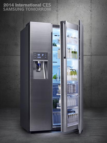 Samsung Food Showcase Refrigerator (model: RH22H9010SR)