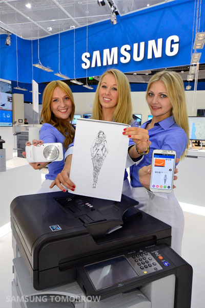Samsung Cloud Print at the CeBIT 2014_4