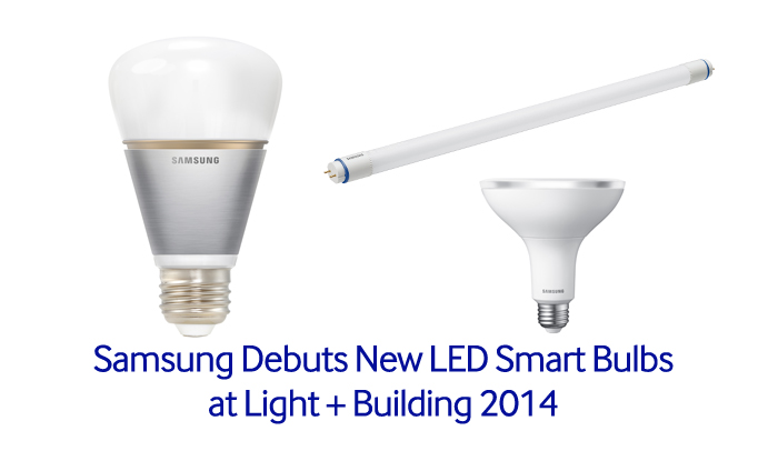 Samsung Debuts New Led Smart Bulbs At Light Building 2014 Samsung Global Newsroom