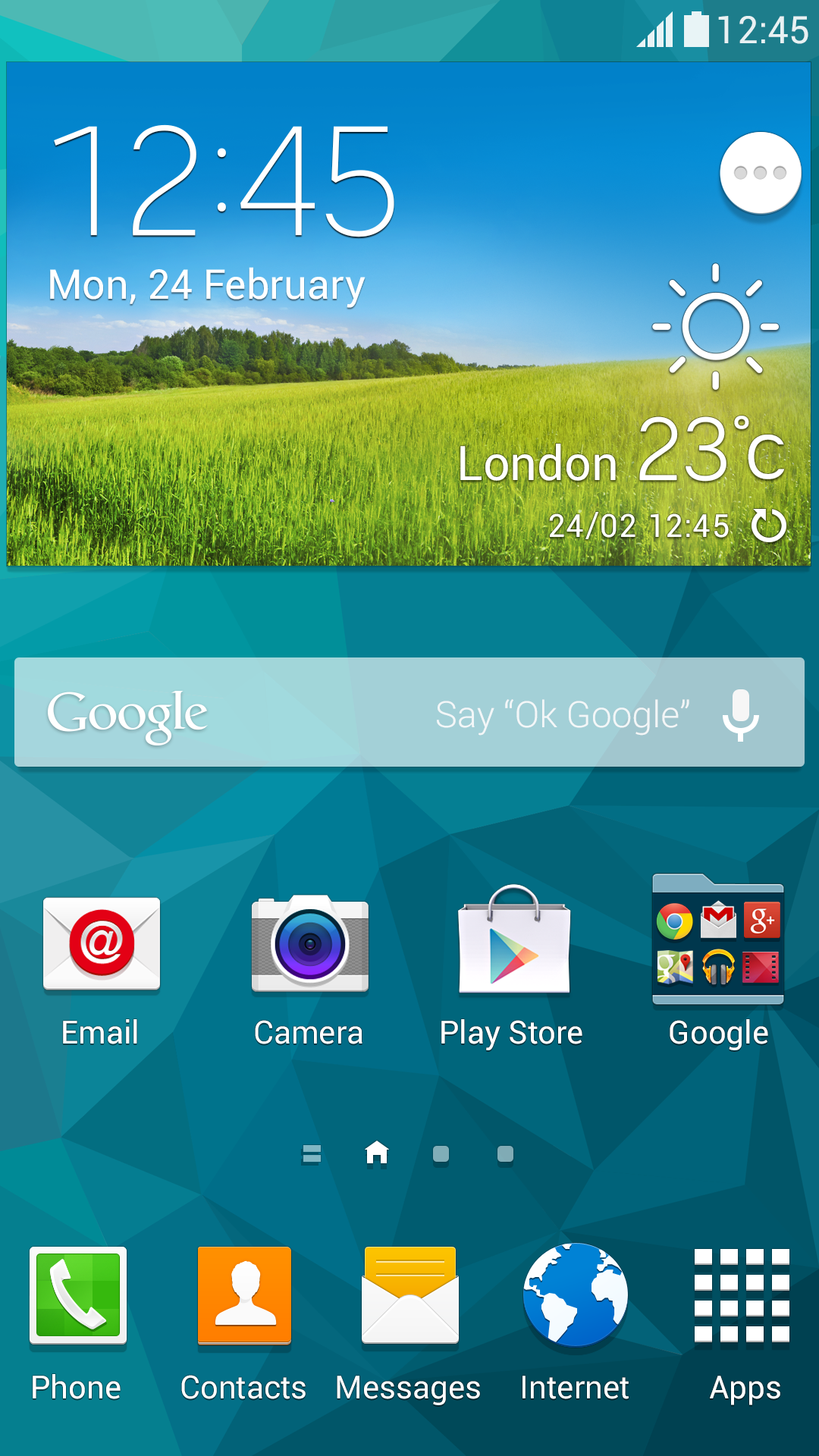 10 hidden features of the galaxy s5 samsung global newsroom for Android wallpaper 5 home screens