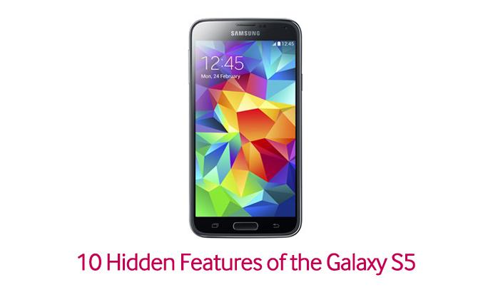 10 Hidden Features of the Galaxy S5 – Samsung Global Newsroom