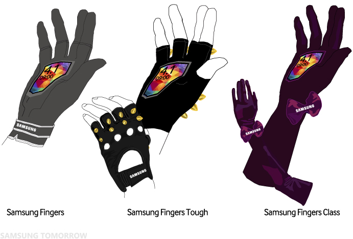Samsung Fingers_Variations