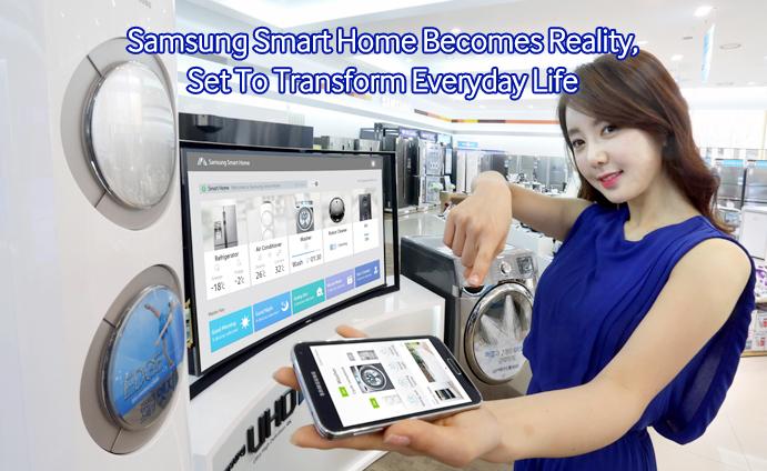 samsung smart home becomes reality set to transform. Black Bedroom Furniture Sets. Home Design Ideas