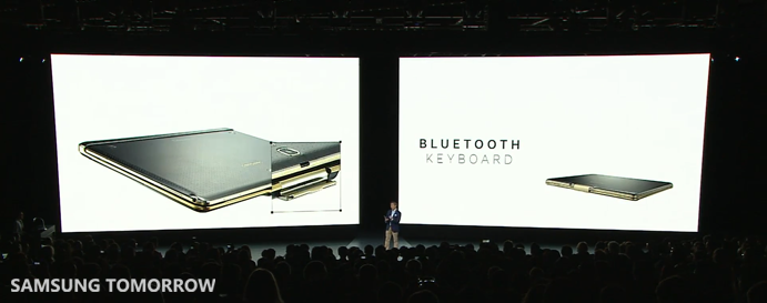 Bluetooth Keyboard of Galaxy Tab S