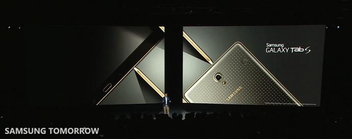 Galaxy Tab S full shot
