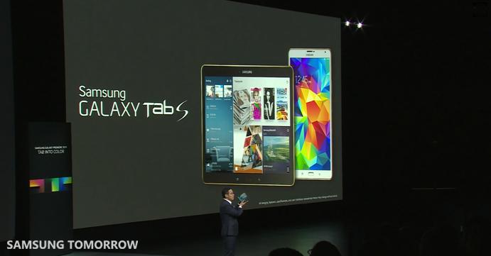 Introducing the Galaxy Tab S 1