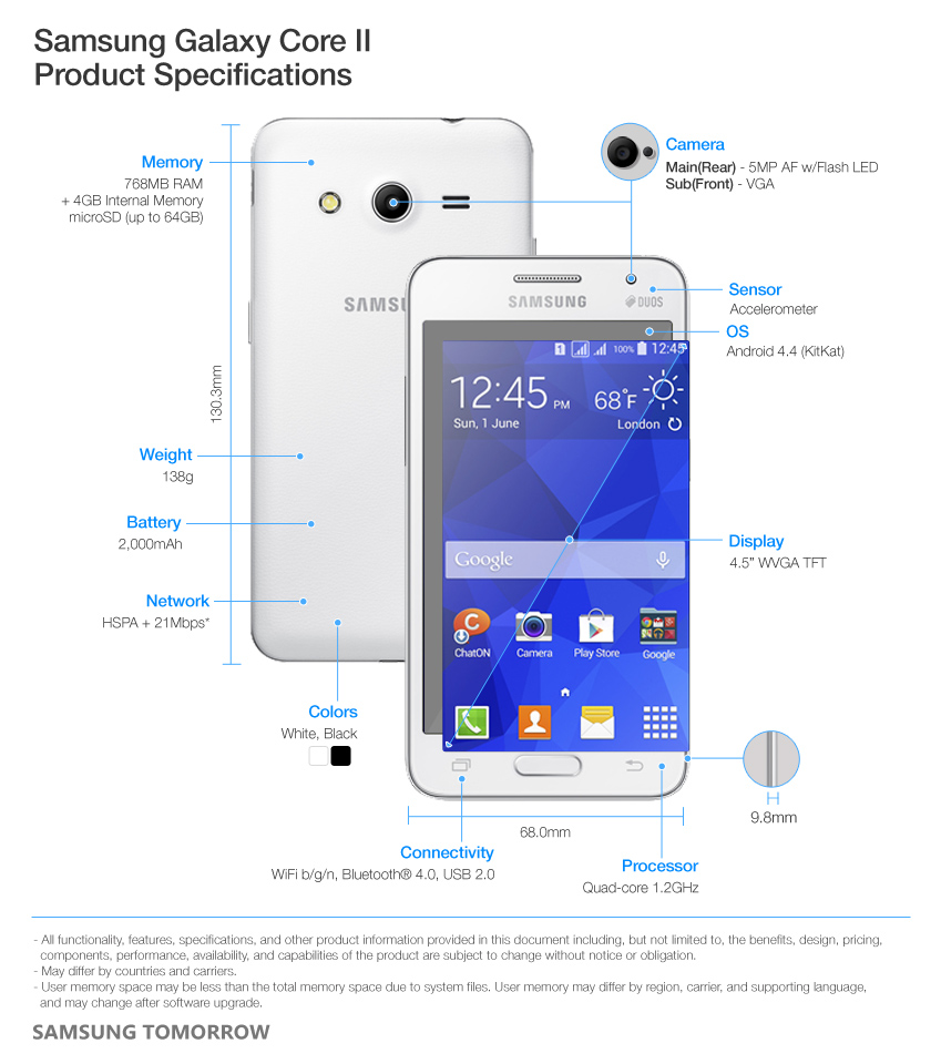 Samsung-Galaxy-Core-2-Product-Specifications