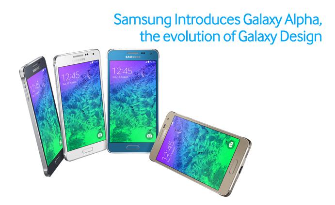 Samsung Introduces Galaxy Alpha The Evolution Of Galaxy Design