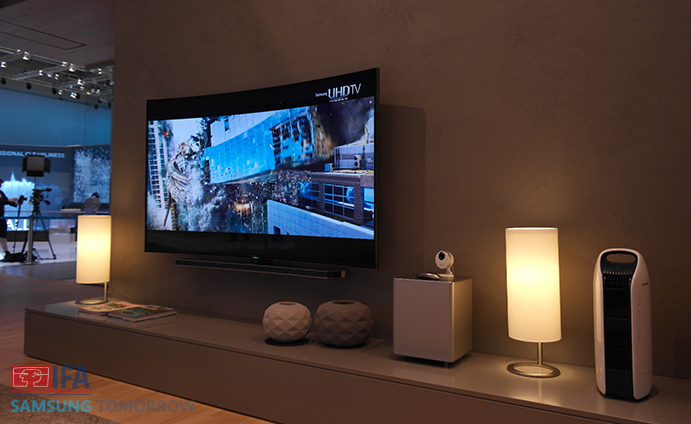 Smart home expectation current state and the near future for Samsung smart tv living room