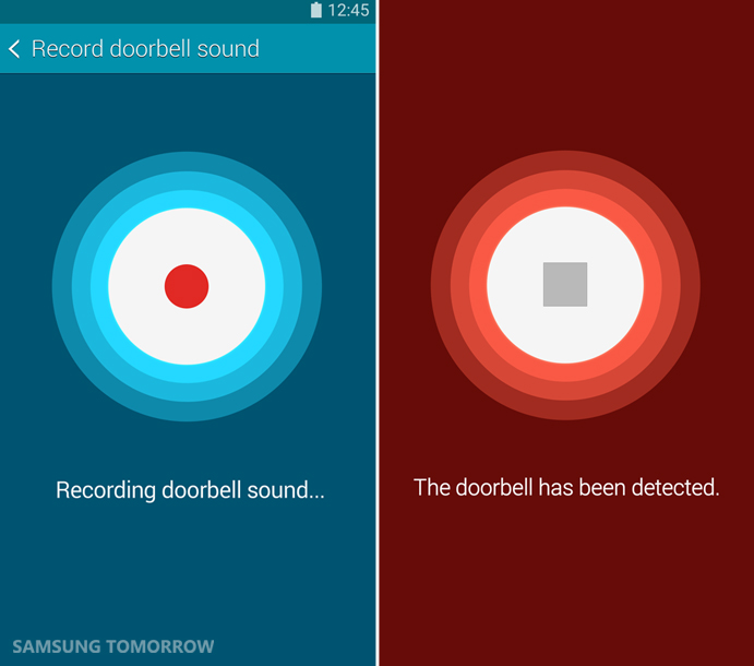 'Sound Detector' feature of Galaxy Note 4