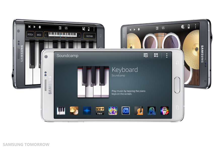 Samsung Soundcamp Brings the Recording Studio to Your Phone