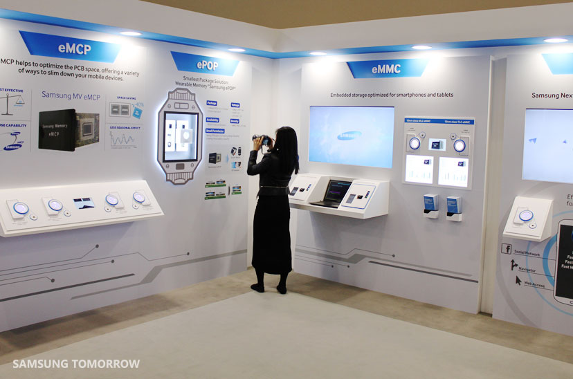 Exhibition Stand Russia : An exclusive look inside samsung s memory exhibit at mwc