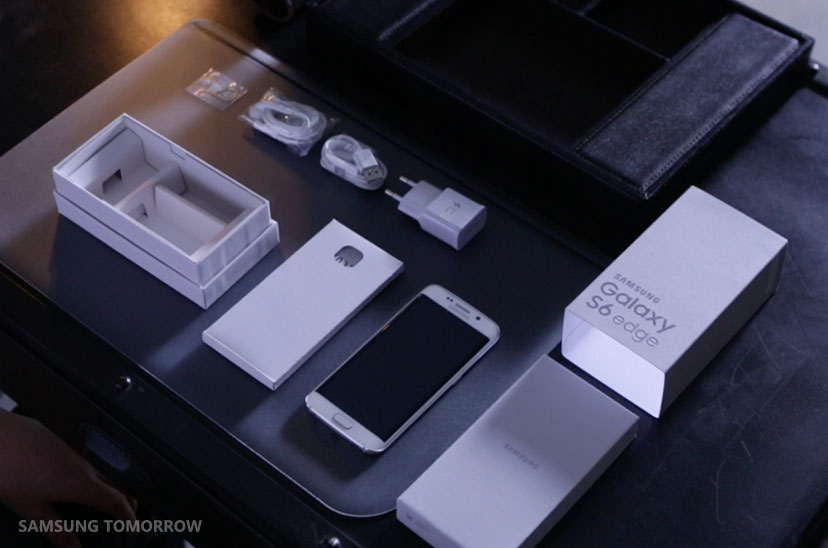 This is How the GalaxyS6 edge is Put Together