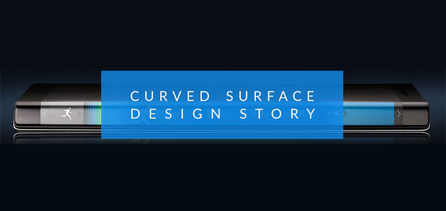 [Design Story] Bending Reality with Curved Displays