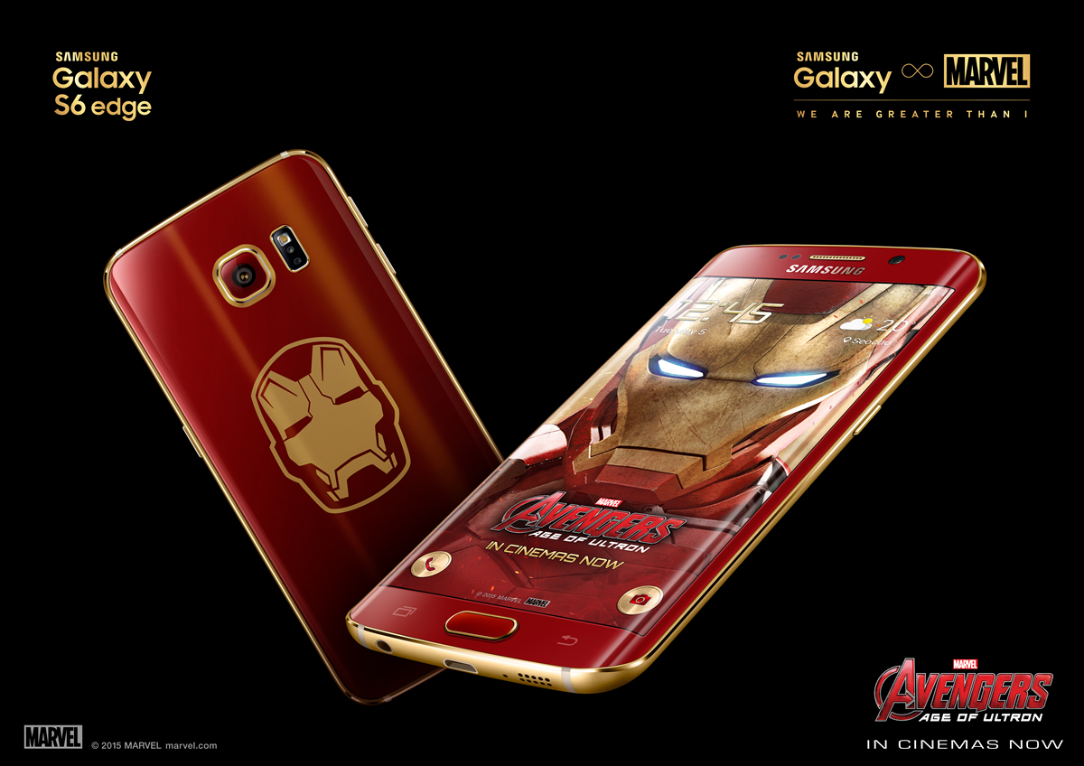 Galaxy S6 edge Iron Man Limited Edition_KV2