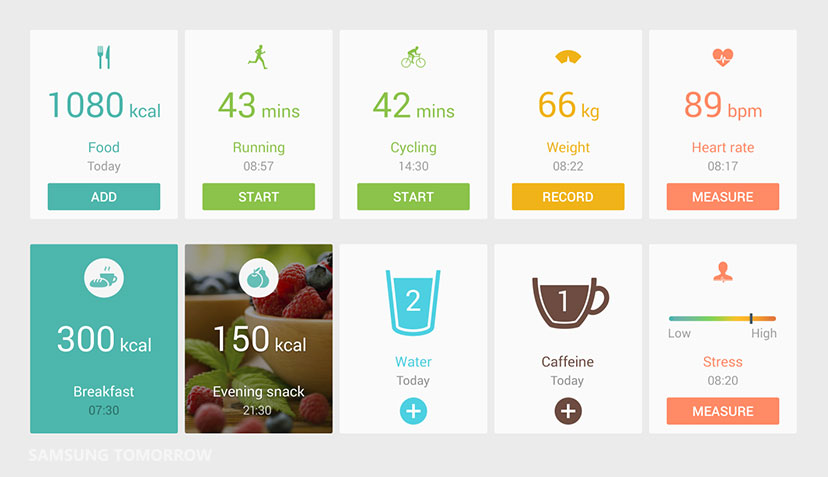 track manage improve better health with s health app