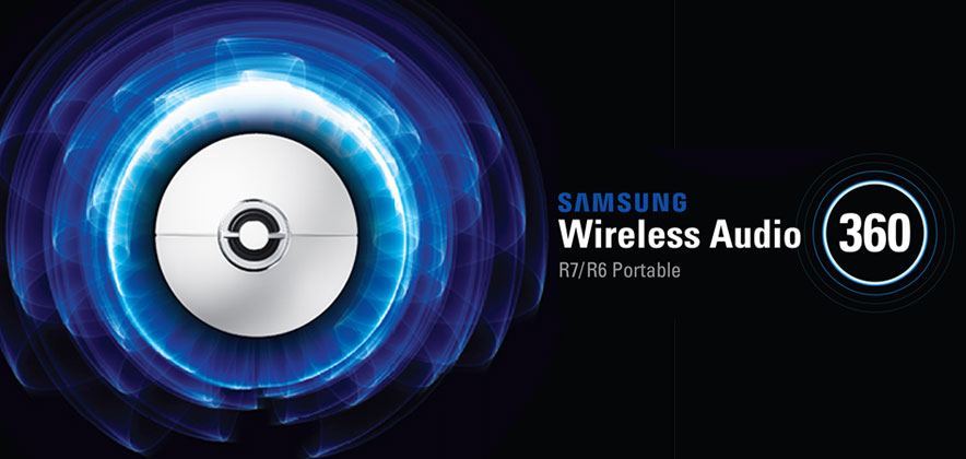 Infographic] The Stylish and Powerful Wireless Audio-360 – Samsung