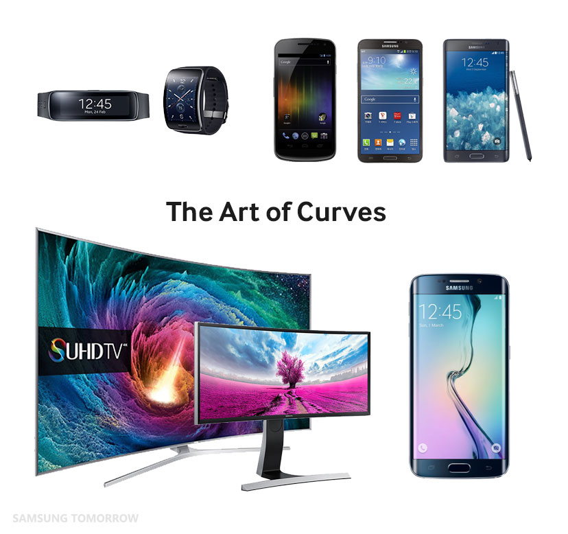 The Art of Curves on Samsung's Products – Samsung Global Newsroom