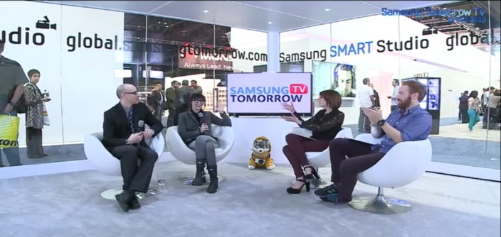Talk Show! [Day 3] Samsung Tomorrow TV @ CES2013