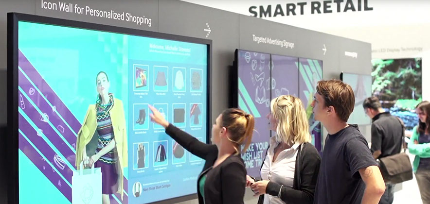 Video Samsung Smart Signage Solution At Ifa 2015