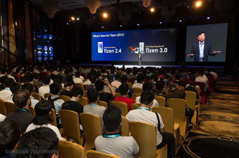 TDC 2015 Presents Tizen's Future Roadmap in China